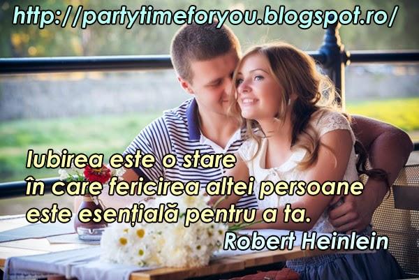Iubirea este o stare în care fericirea altei persoane este esenţială pentru a ta.