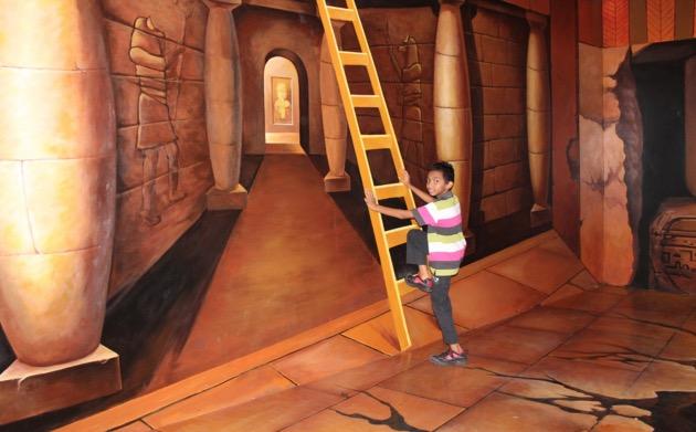 Kuil Freemason di Penang 3D Trick Art Museum