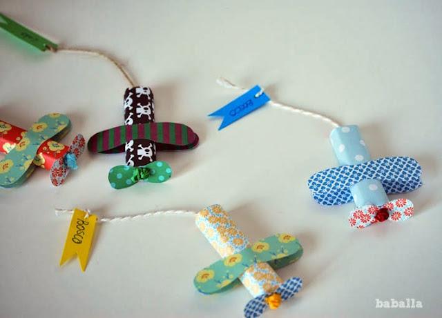 chocolatinas con forma de avión