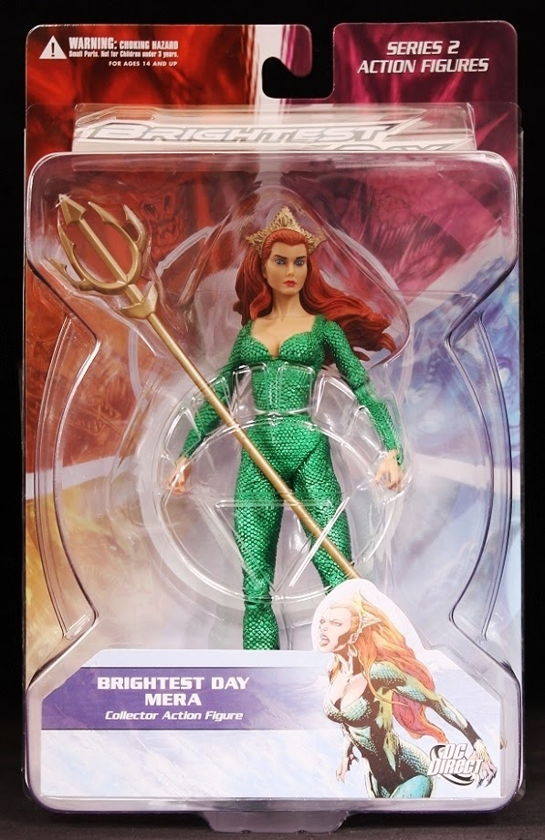 Series 2 DC Direct Brightest Day Mera Action Figure