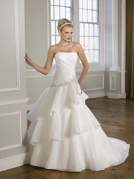 vestidos de novia: La elección de un vestido de novia precioso