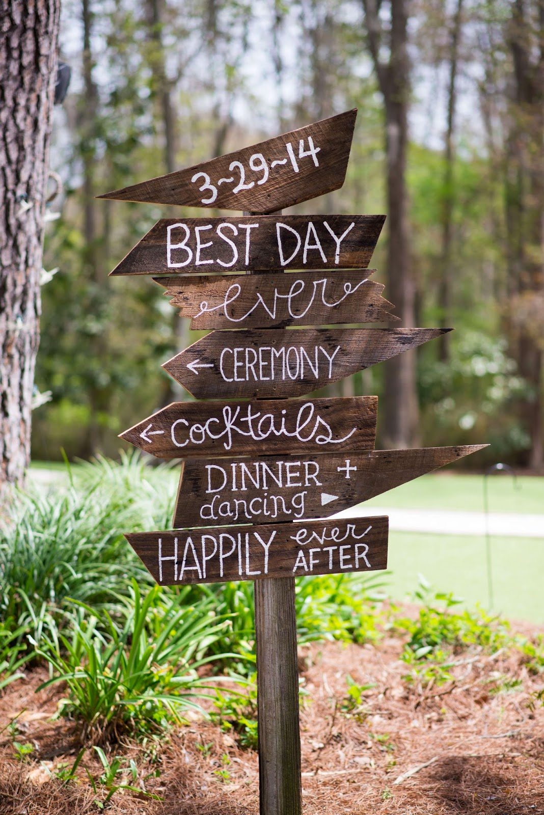 customized directional signage