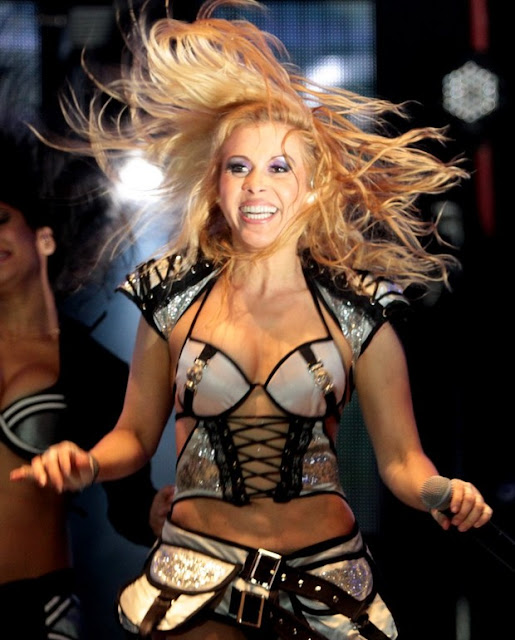 Joelma Bate cabelo