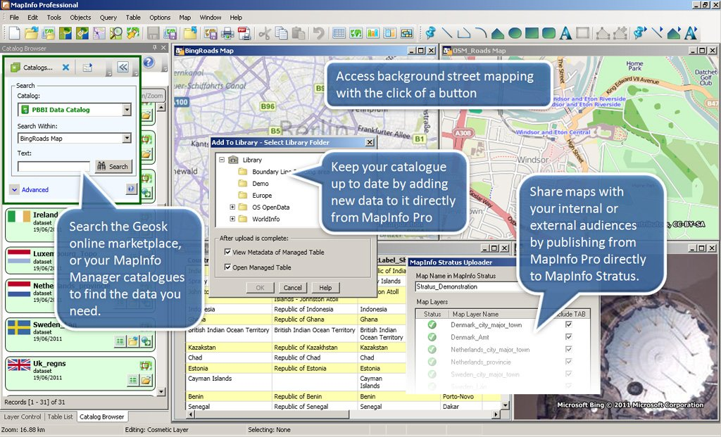 Mapinfo download demo