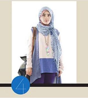 Fashionholic Tutorial Gaya Hijab Untuk Kuliah 2