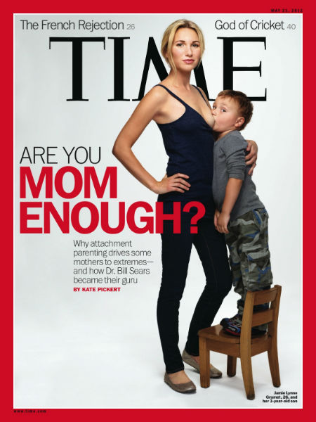 Controversial photos breast feeding age have