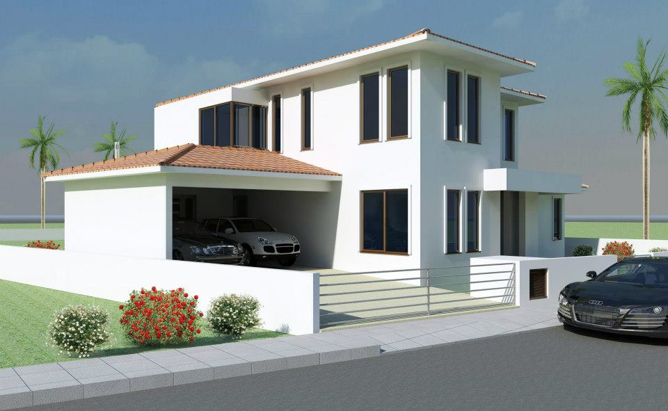 New home designs latest beautiful modern home exterior for Modern contemporary exterior house design