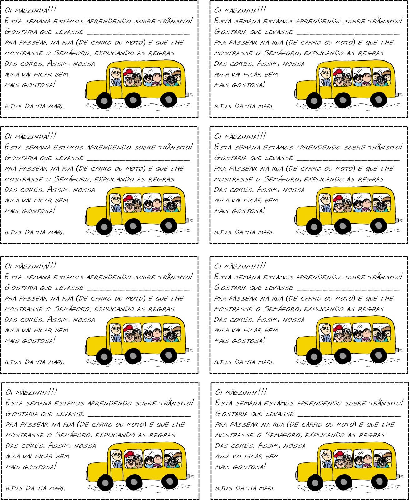 Suficiente Educação Infantil: TRÂNSITO BS45