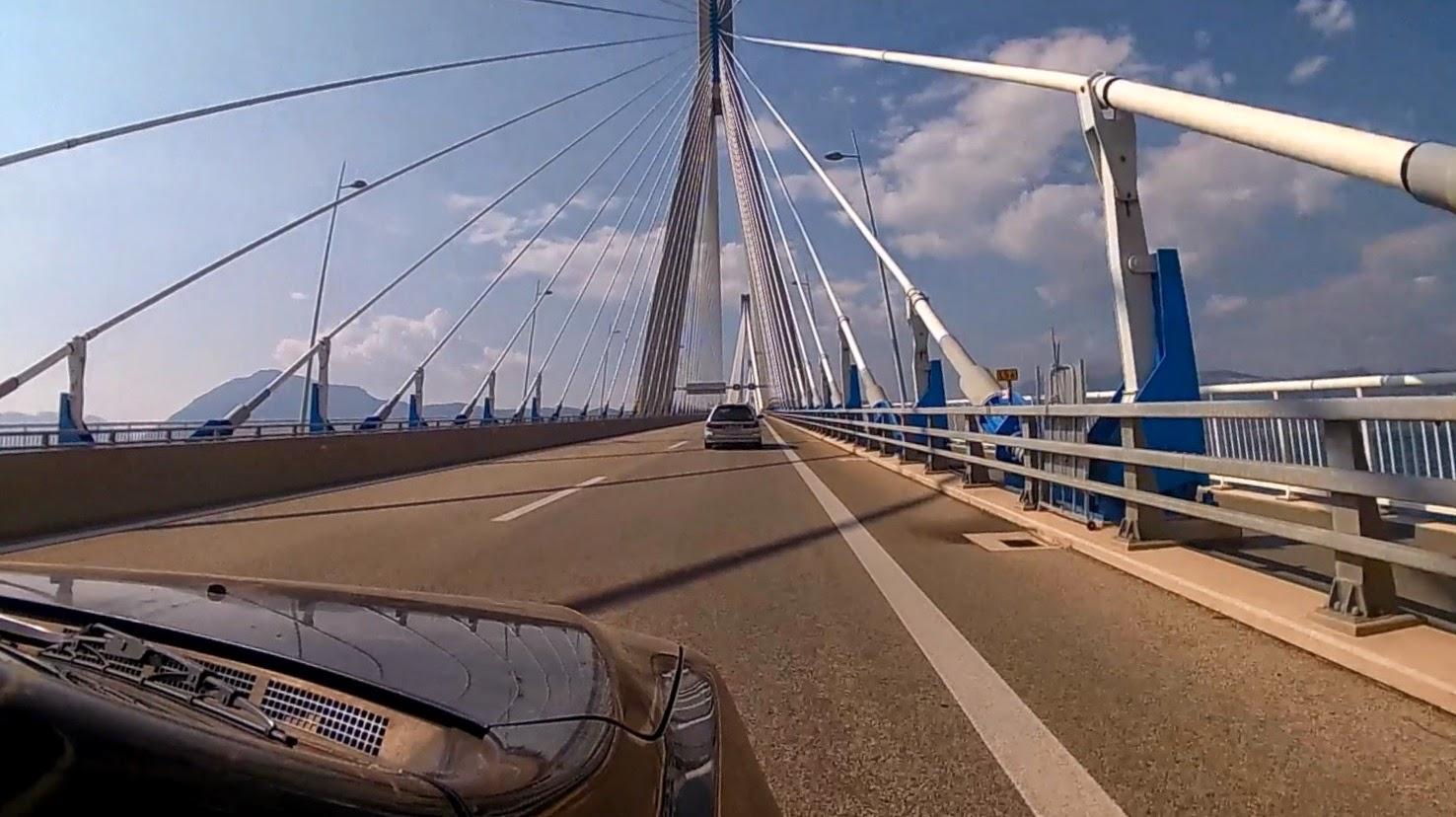 Most Rio-Antirio. Grecja