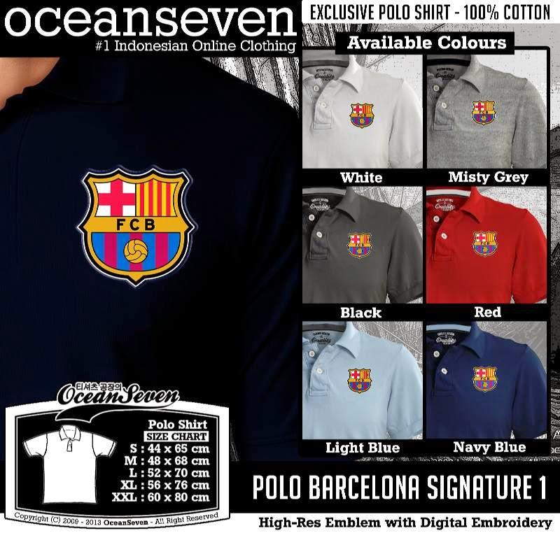 Kaos Polo Barcelona Signature 1