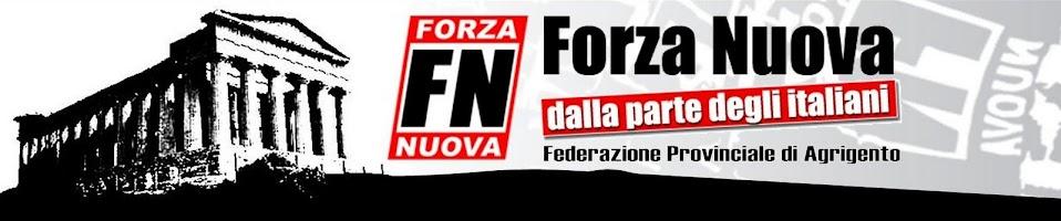 Federazione Provinciale di Agrigento - Forza Nuova