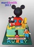 çizgi film karakterli pastalar