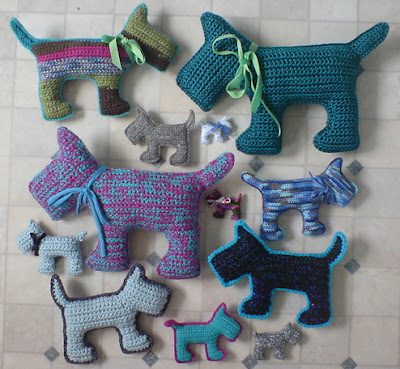 free crochet pattern amigurumi scottie dog