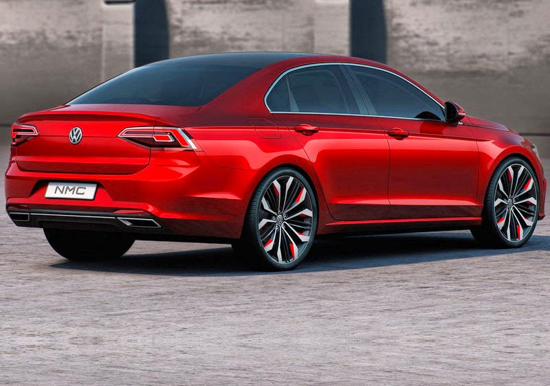 New Volkswagen New Midsize Coupe Concept 2014love The Color Red Is