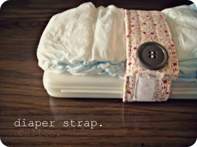 The Johnston's: {DIY Diaper strap