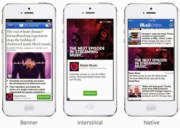 فيس بوك تطلق شبكة اعلانية مخصصة لتطبيقات الهواتف