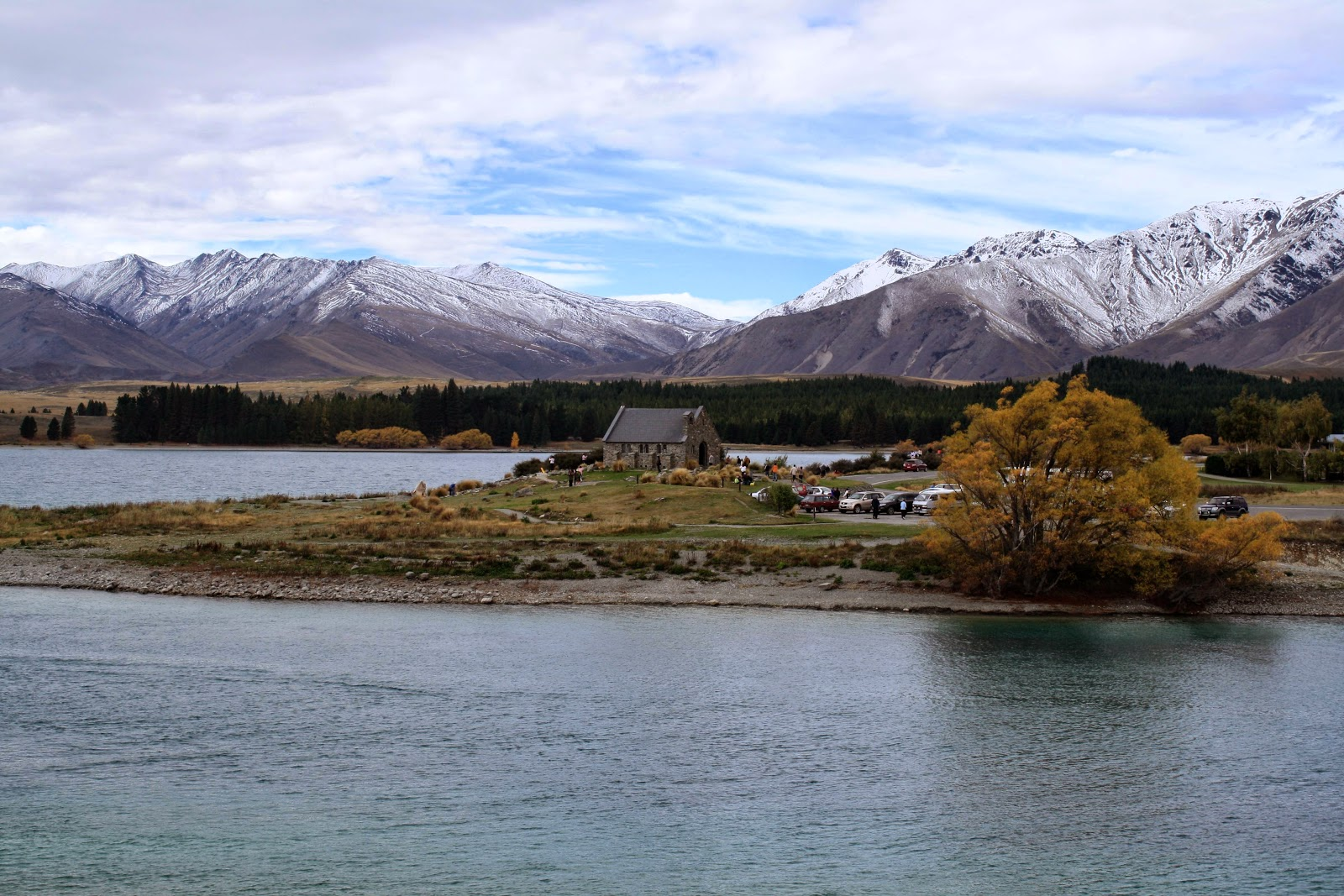 The Church of the Good Shepard at Lake Tekapo.