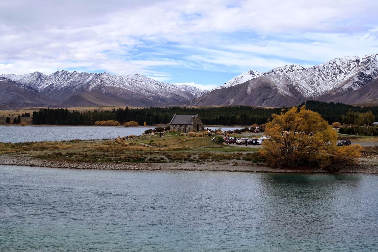The Church of the Good Shepard at Lake Tekapo.