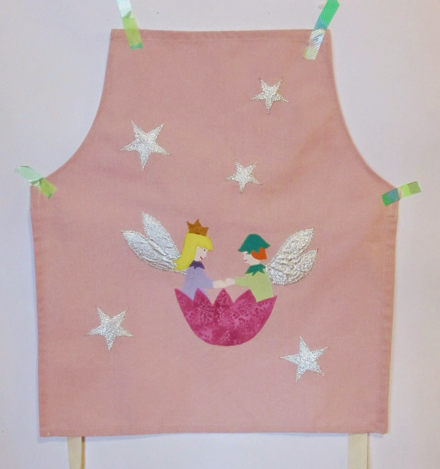 applique fatina ed elfo