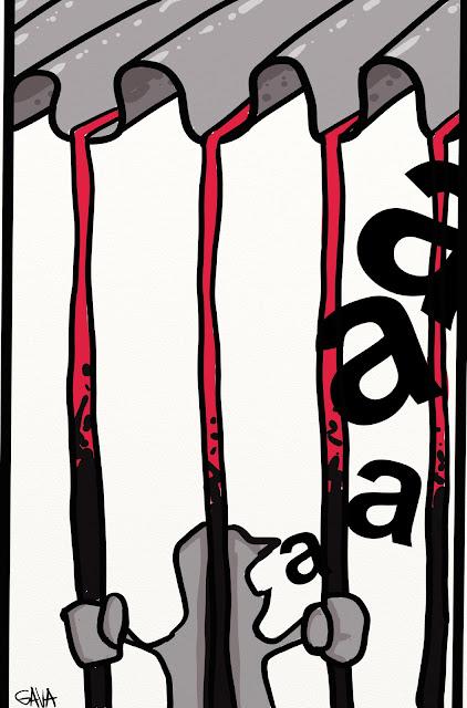 gava gavavenezia vignette satira eternit condanna amianto