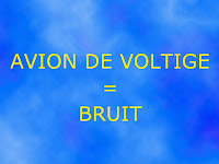 tolerance bruit avion voltige