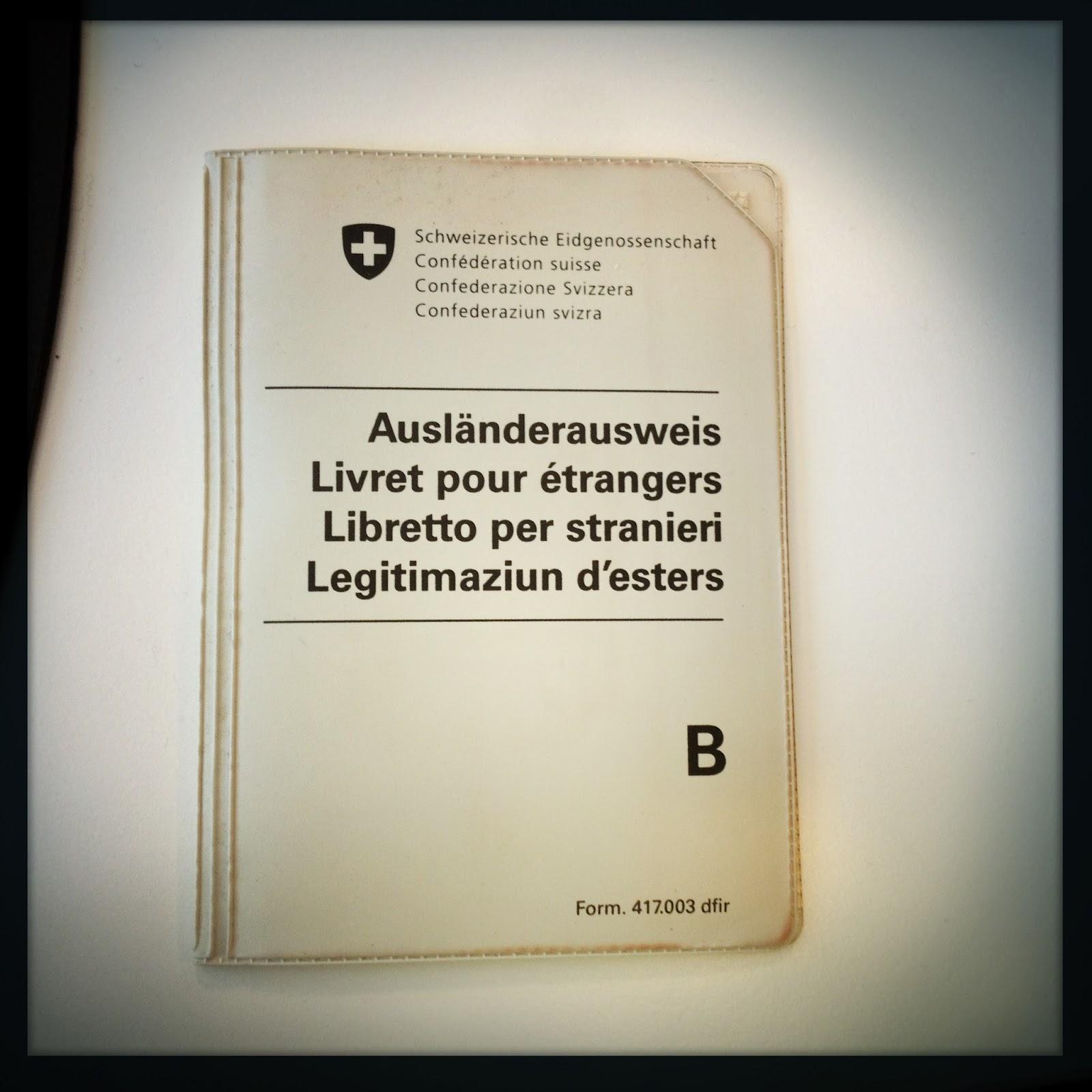 Alittam il permesso per stranieri svizzero for Permessi di soggiorno per lavoro