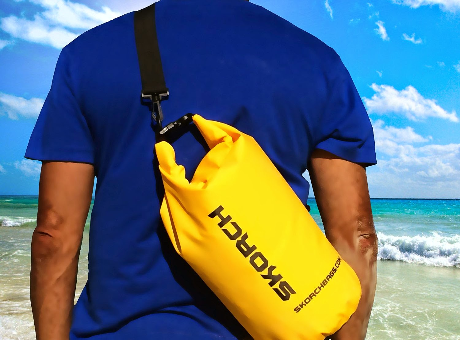 The Skorch Bright Yellow Dry bag