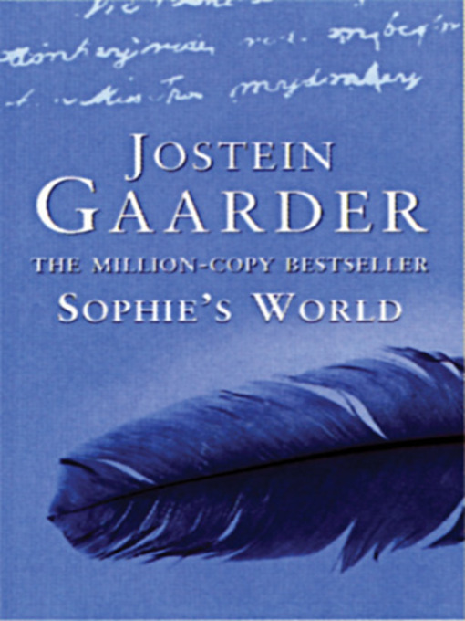 a reading report on sophies world by jostein gaarder Thus begins jostein gaarder's unique novel, which is not only a  sophie's  world: a novel about the history of philosophy  this book lost me halfway   for publishers - report an issue - help - sitemap - google home.