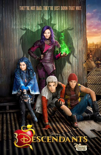 Disney movie posters descendants poster