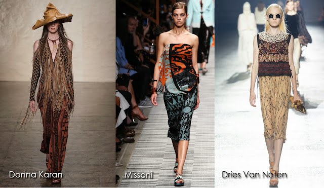 Inspected Trend: When Nature Calls Donna Karan, Missoni, Dries Van Noten