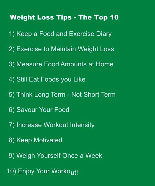 Weight Loss Tips The Top 10 Http Ift Tt W45hzk 1abiz