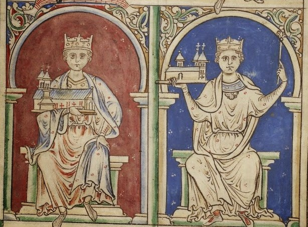 Empress Maud and King Stephen