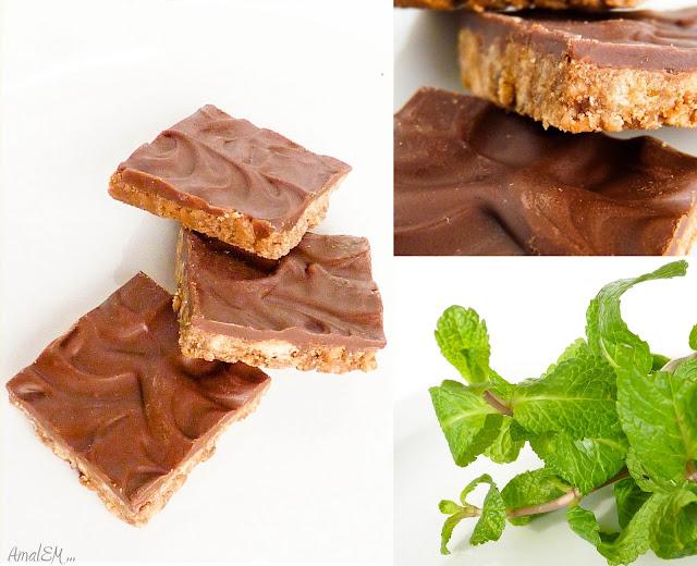 Ça titille les papilles !, Chocolat, Menthe, Friandise, Carrés