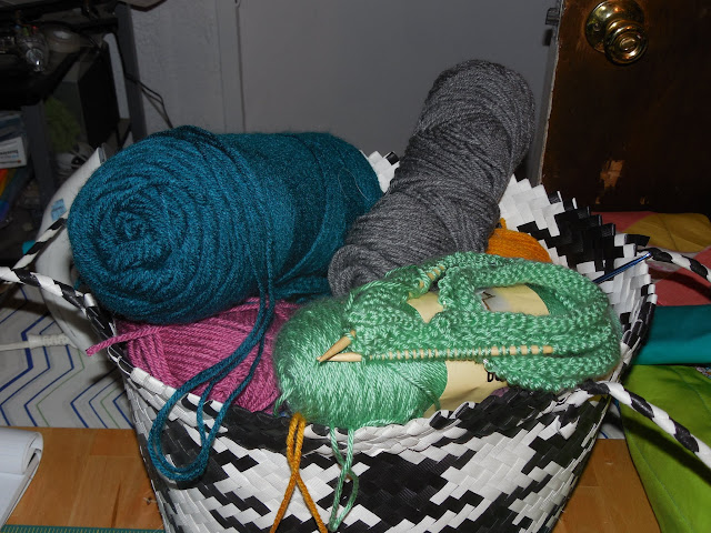 yarn bag runneth over