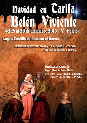 BELÉN VIVIENTE DE TARIFA 2015 - CÁDIZ