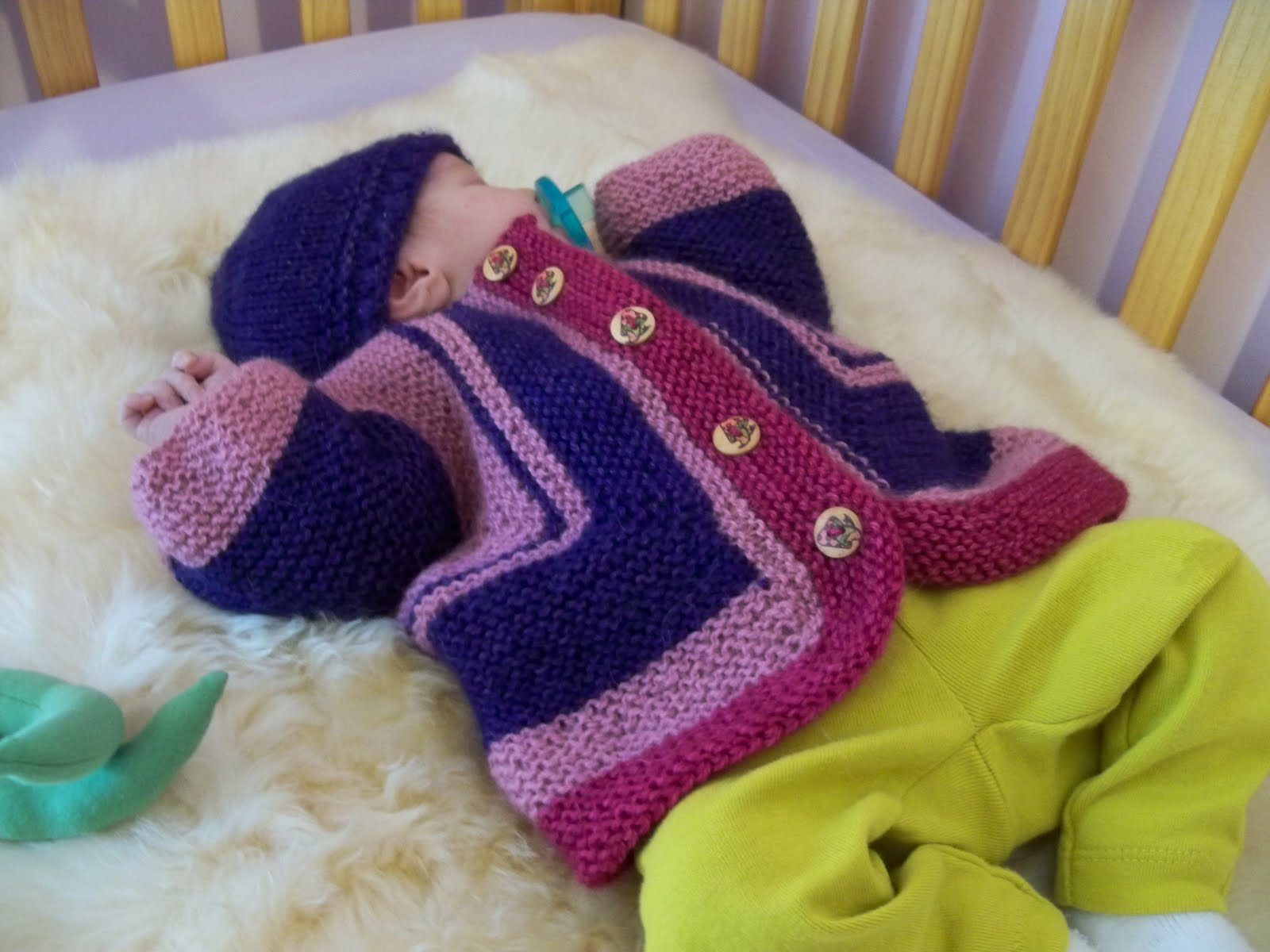 Crochet Surprise Jacket Free Pattern : Baby Surprise Jacket Free Pattern ? Catalog of Patterns