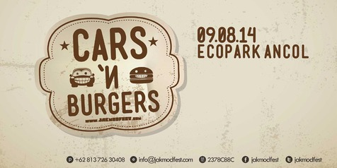 The 2014 Jakarta Modification Festival (JAKMODFEST): CARS'N'BURGERS