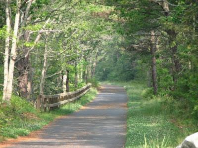 Bike Trail in Brewster