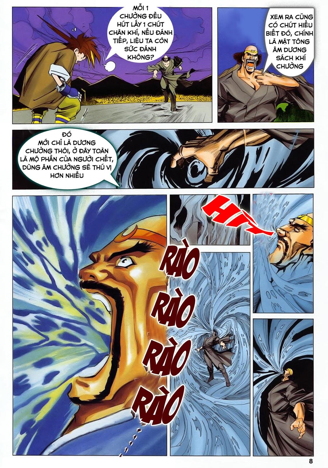 Lục Đạo Thiên Thư chap 36 - Trang 8