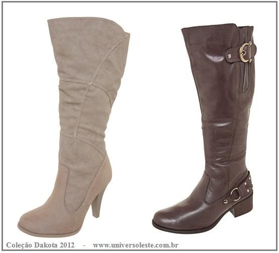Coleção de botas Dakota - Inverno 2012