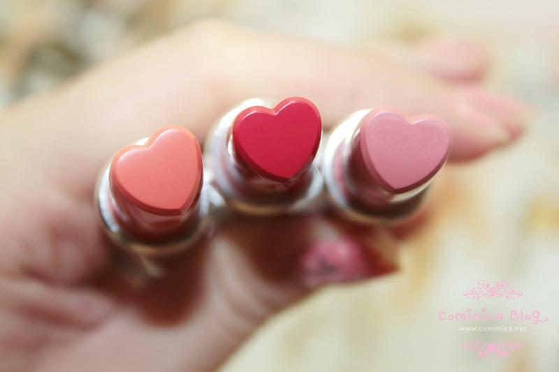 Cominica Blog ♔: Holika Holika Heartful Moisture Lipstick