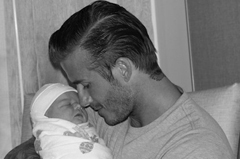 Facebook, Twitter, First picture of Harper Seven Beckham shared Via Twitter & Facebook, birth injury lawyers bronx, Poster, Wallpaper, image, photo