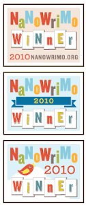 "I ""won"" NaNoWriMo in 2010"