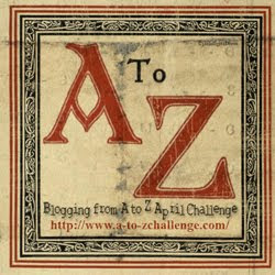 A to Z in April 2012