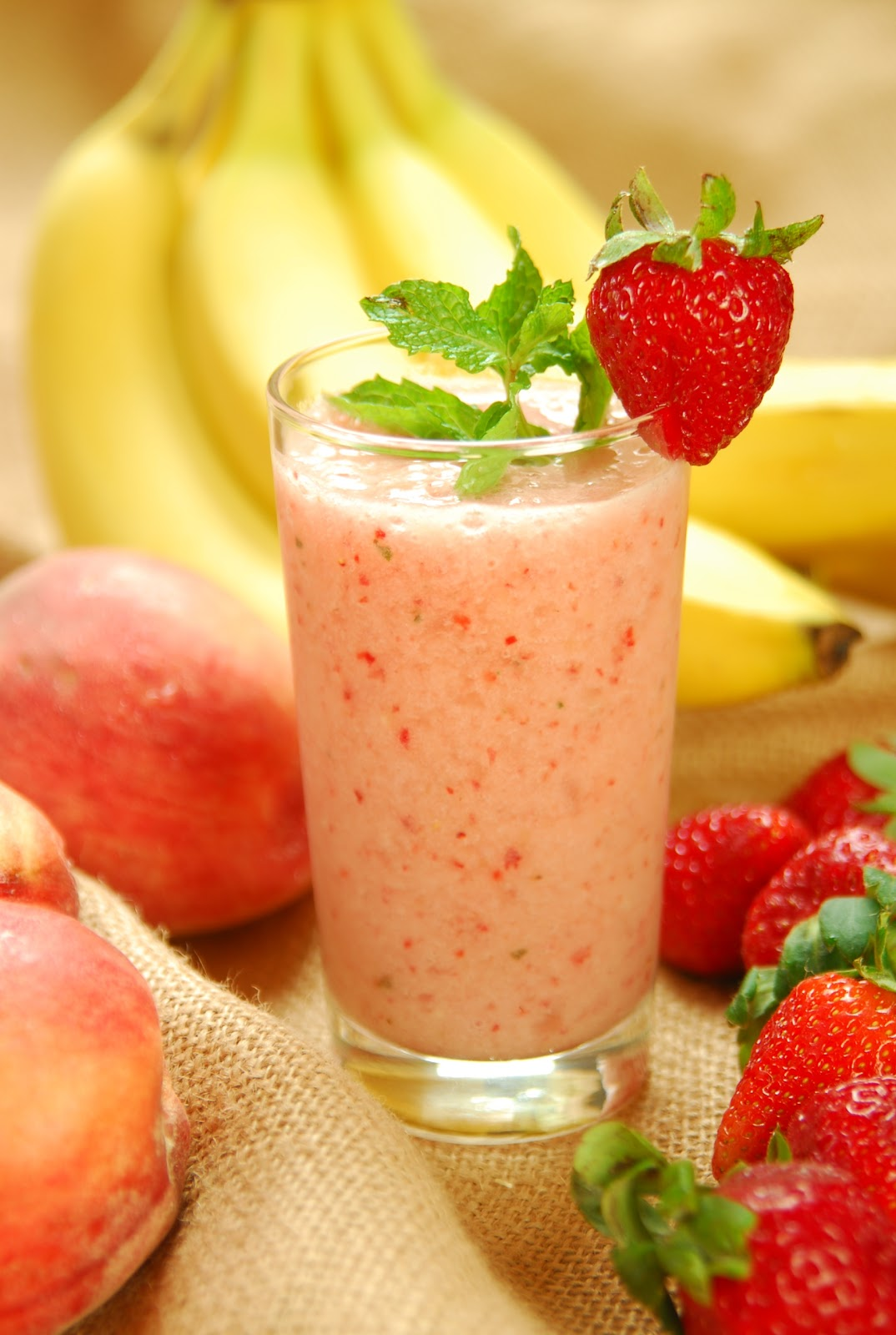 Fruit Smoothie Information on Happy Healthy News