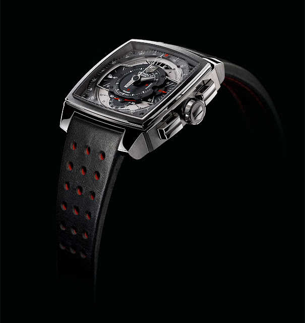 Tag Heuer Monaco Mikrograph 1/100th Of a Second Chronograph side