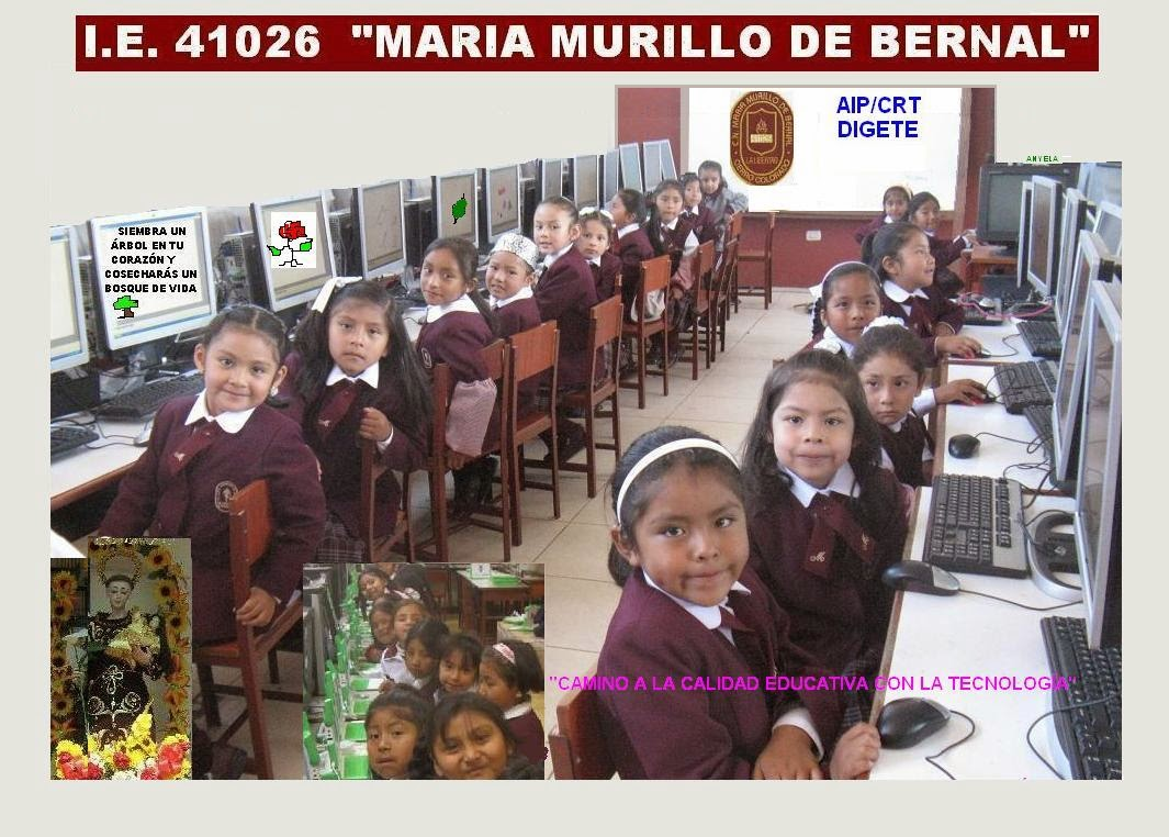 IE 41026 MARIA MURILLO DE BERNAL