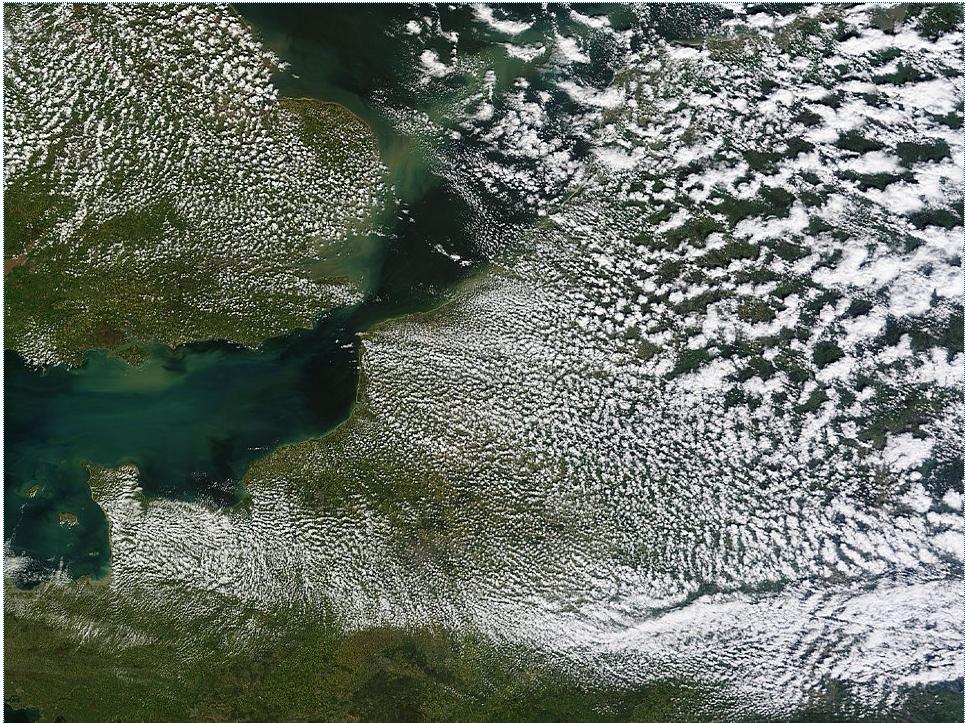 Image du système MODIS