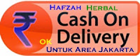 cash on delivery hafzah herbal