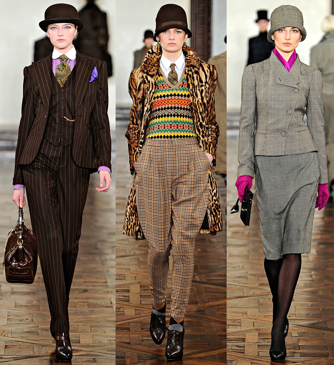 New York Fashion Week FW12: Ralph Lauren, Oscar de la Renta